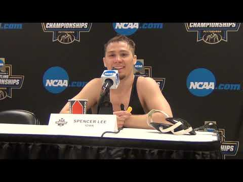 Spencer Lee Of Iowa, 2019 NCAA Champion At 125 Pounds