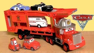Mack Truck Hauler Tomica Rescue-Go-Go Takara Tomy DisneyPixarCars  タカラトミー by ToyCollector
