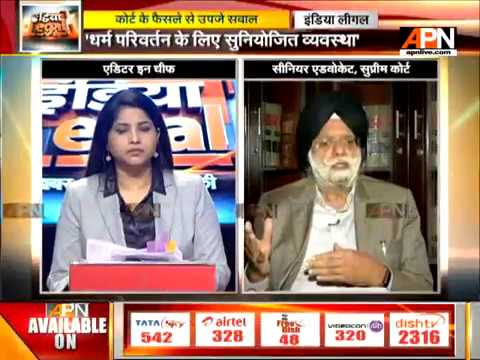 Court or any individual should not intervene in other's choice or will:  Sr Advocate KTS Tulsi