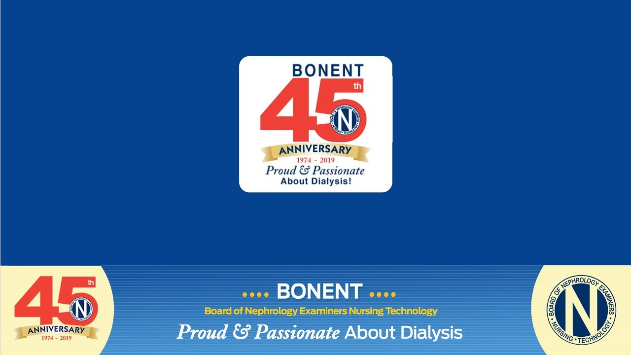 BONENT | Board of Nephrology Examiners Nursing Technology