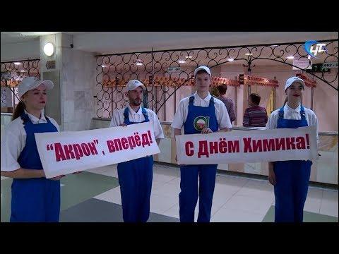 Тысячи сотрудников химкомбината «Акрон» отметили профессиональный праздник