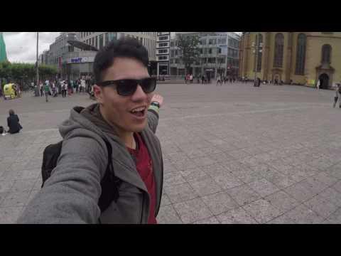 Vlog-001 | Travelling to Frankfurt, Germany