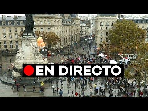 🔴 EN DIRECTO: Protesta en París por la presencia de Donald Trump