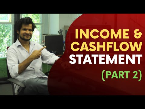 Income Statement and Cashflow Statement   Financial Analysis (Part 2)