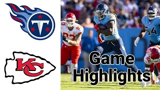 Titans vs Chiefs Highlights | NFL Division Championship FULL GAME