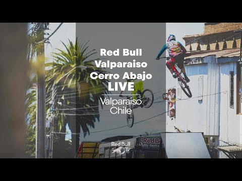 LIVE Urban MTB Downhill Race: Red Bull Valparaiso Cerro Abajo