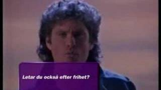David Hasselhoff Looking For Freedom DJuice Advert 1(Sweden)