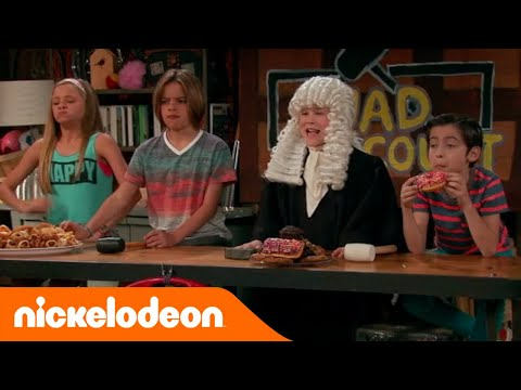 Nicky Ricky Dicky & Dawn | Il tribunale | Nickelodeon Italia