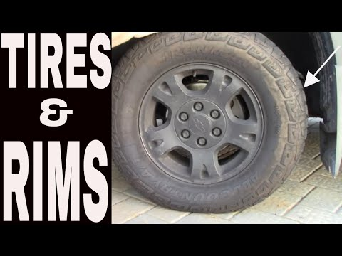 TIRES AND RIMS ( HOW TO PURCHASE A USED CAR) 2019