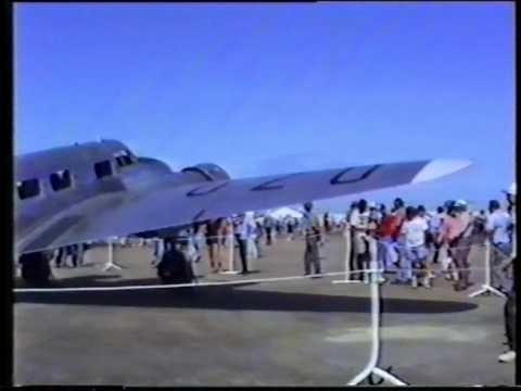 Lockheed L-10 A Airplane Display Australia 1992.