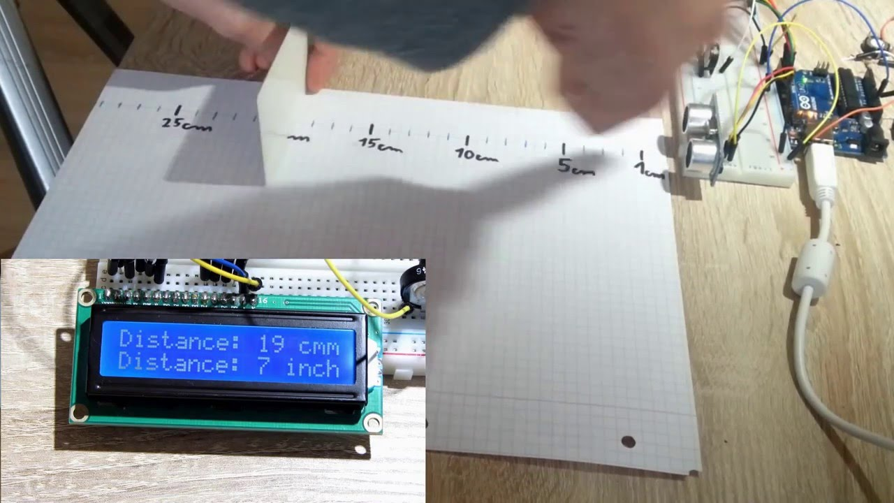 Arduino ultraschall entfernungsmesser youtube