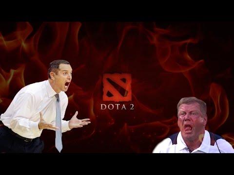 видео: Тренер тренирует в dota 2 !