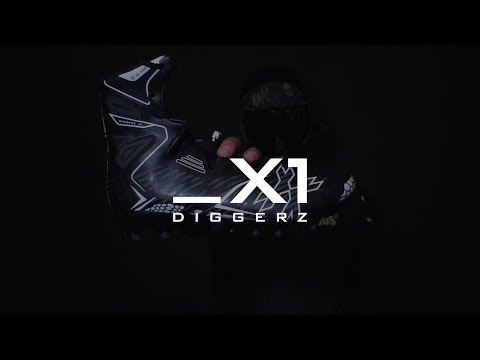Diggerz_X1 Hightop Paintball Cleat