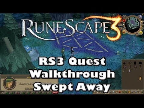 RS3 Quest Walkthrough - Swept Away - 2016 (up to date!)