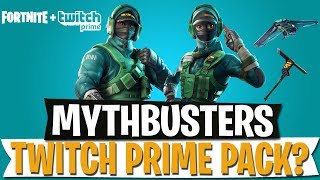 Neues Twitch Prime Pack Nr. 3? | MYTHBUSTERS | Fortnite Battle Royale