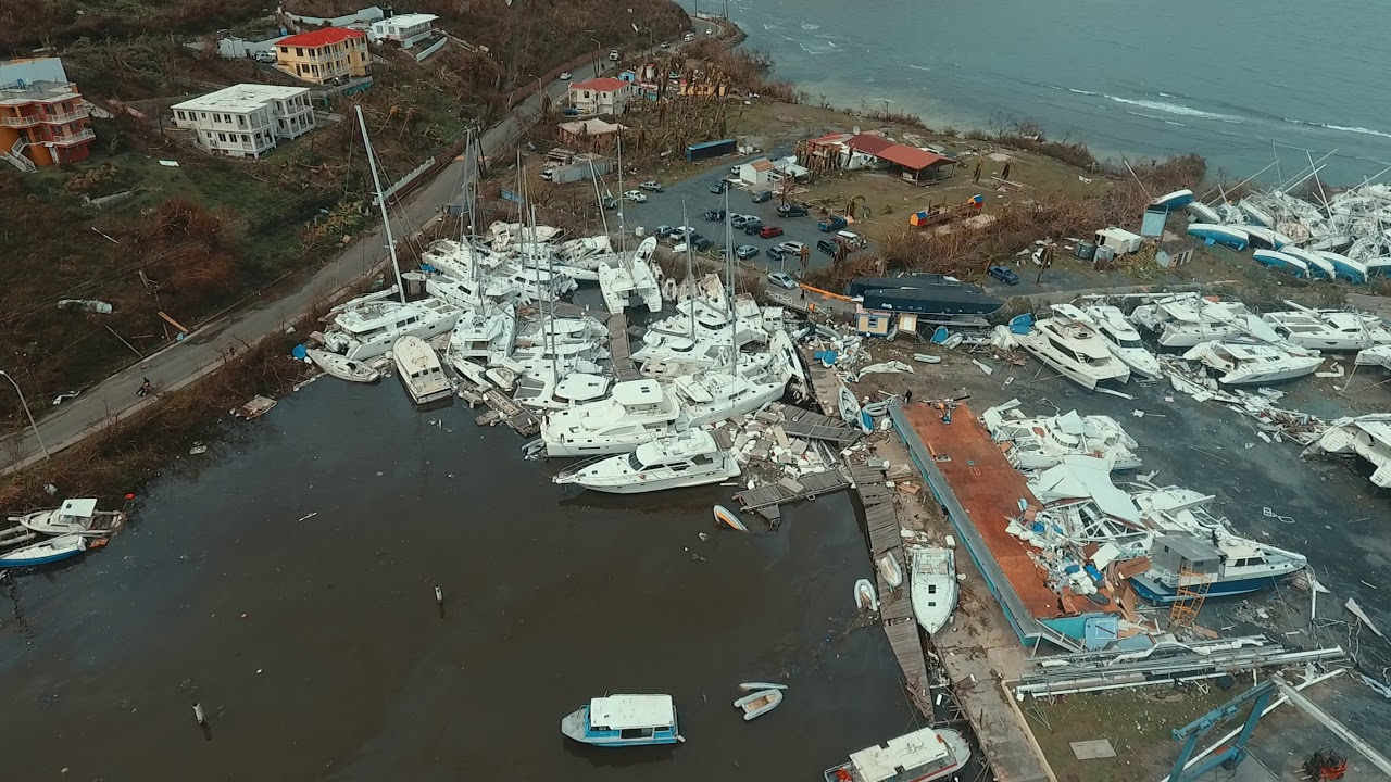 Nanny Cay Marina The Day After Hurricane Irma YouTube