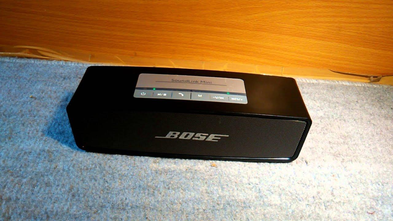 fake bose soundlink mini sound test youtube. Black Bedroom Furniture Sets. Home Design Ideas