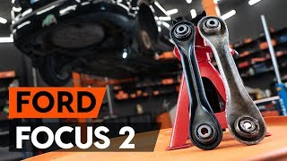 Cambiar Pastilla de freno delanteras y traseras FORD FOCUS II Saloon (DA_) - instrucciones en video