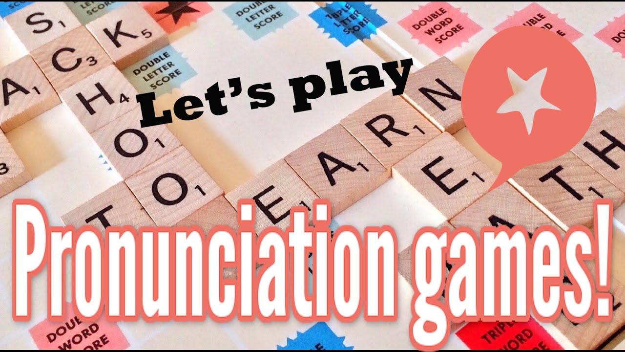 English pronunciation games: Improve pronunciation & speak clearly