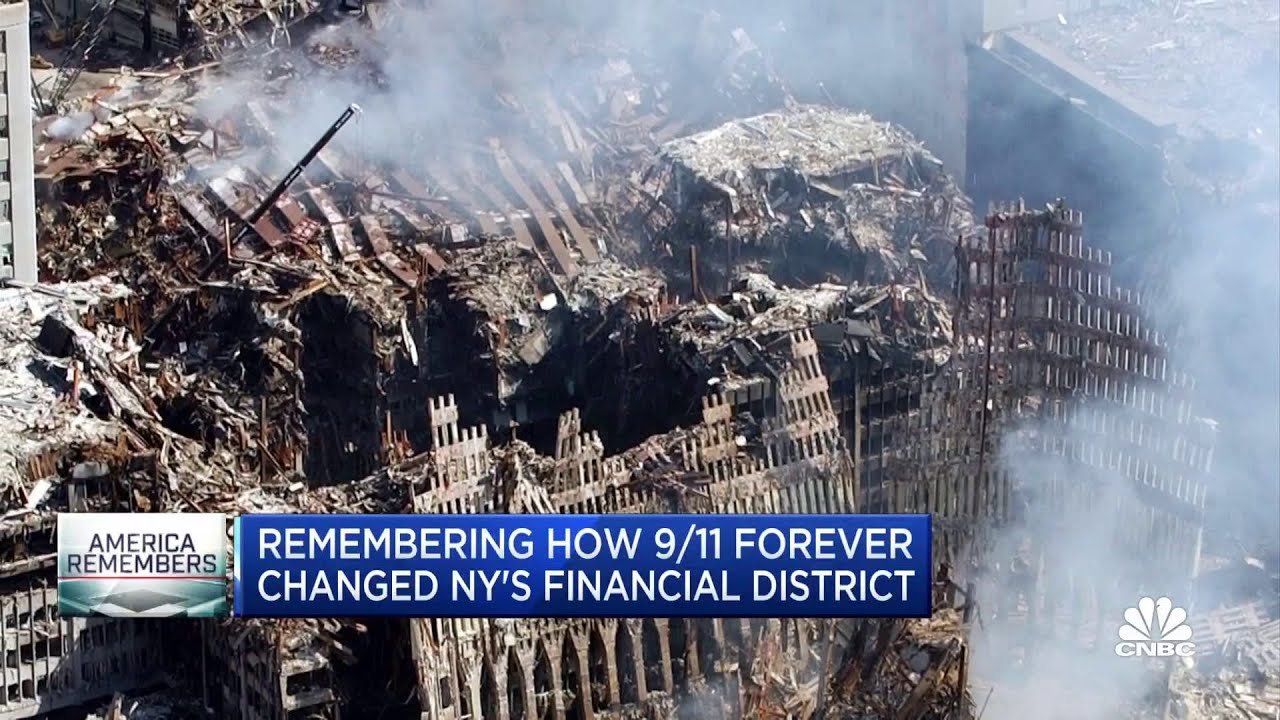 Remembering how 9/11 forever changed New York City's financial district