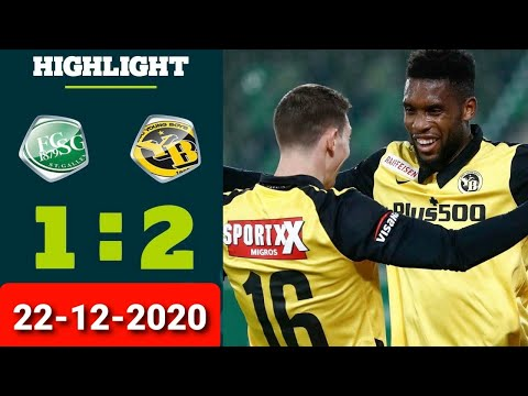 St. Gallen Young Boys Goals And Highlights
