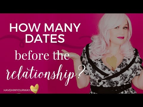 how many dates before you start dating