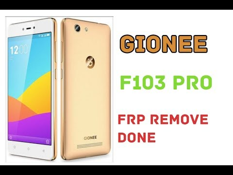 How to Remove / Bypass Frp on Gionee F103 Pro (New Method