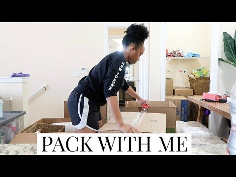 I'M MOVING! PACK MY APARTMENT WITH ME!   DECLUTTER, ORGANIZE & PACK WITH ME VLOG