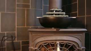 Humid-i-fire™: Wood Stove Fountain And Humidifier