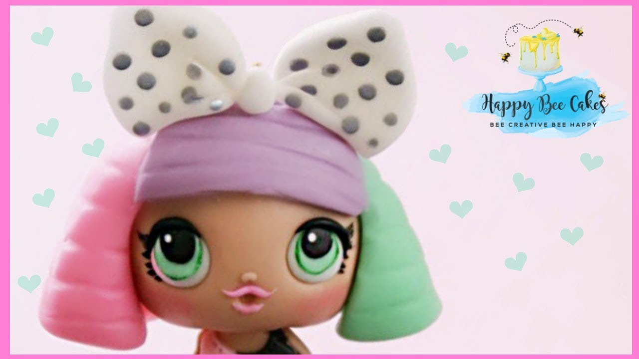 How to make an LOL surprise doll cake topper tutorial ...
