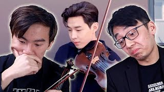 Henry Lau Reveals Fake Violin Secret
