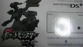 DSi ポケモンホワイトパック買っちゃいました!!!