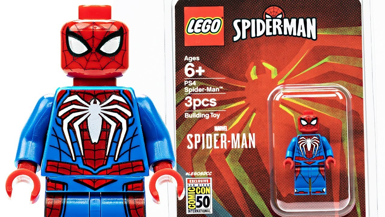 LEGO Spider-Man PS4 SDCC 2019 - I think I'm over con exclusives