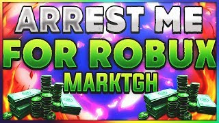 IM BACK! | ARREST ME FOR FREE ROBUX!! |Roblox JAILBREAK| MarkTGH Face Reveal at 1000 Subs!