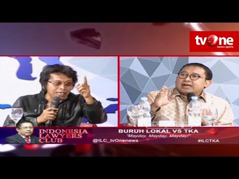 FULL ILC - Buruh Lokal vs TKA Mayday, Mayday, Mayday! Indonesia Lawyers Club tvOne
