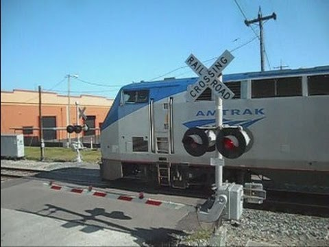 Thumbnail: Amtrak Train Silver Star 92 Coming And Going
