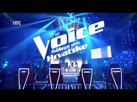 "Mentori: ""I Love Rock'n'Roll"", Joan Jett & Blackhearts - The Voice of Croatia - Season 2 - Battle1"