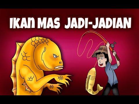 Kartun Hantu |  Kartun Lucu | IKAN MAS JADI-JADIAN | Animasi Horor | Seram