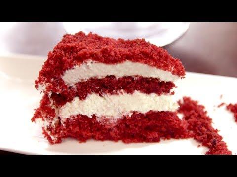 Очень вкусный торт - Красный бархат