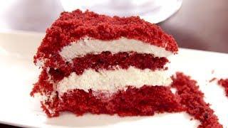 """Очень вкусный торт - """"Красный бархат"""""""
