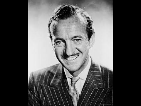 David Niven (1910-1983) UK actor