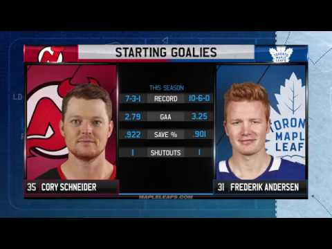 Molson Canadian Leafs Gameday: Toronto vs New Jersey - November 16, 2017