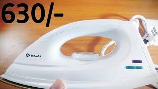 Bajaj Iron Unboxing Amazon ¦¦ Bajaj DX 7 Unboxing ¦¦ Best Iron from Bajaj ¦¦ Budget iron from Bajaj