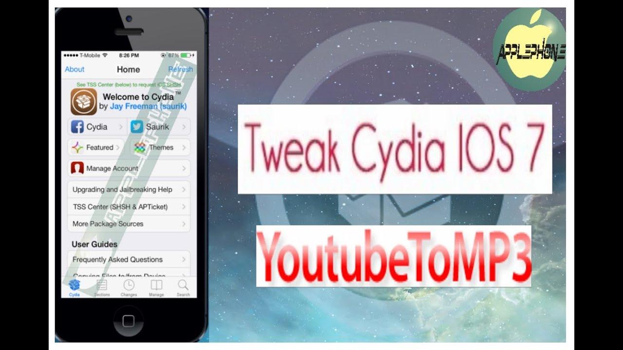 app para descargar musica gratis iphone cydia