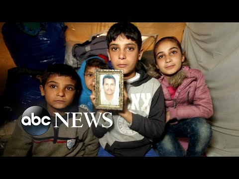 Appalling conditions inside Syrian refugee camp on Lesbos