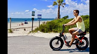 The Bintelli Fusion - Electric Scooter / Electric Bike Hybrid Bicycle For Sale
