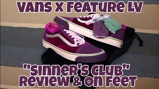 vans old skool sinners club
