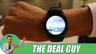 ⌚ BEST SMARTWATCH WIRELESS BLUETOOTH 2016 ◄ We were SHOCKED at the price!!(The Deal Guy was shocked the price point of this amazing smart watch. It does everything the more expensive smart watches do. It's stylish at the same time., 2016-08-11T14:00:01.000Z)