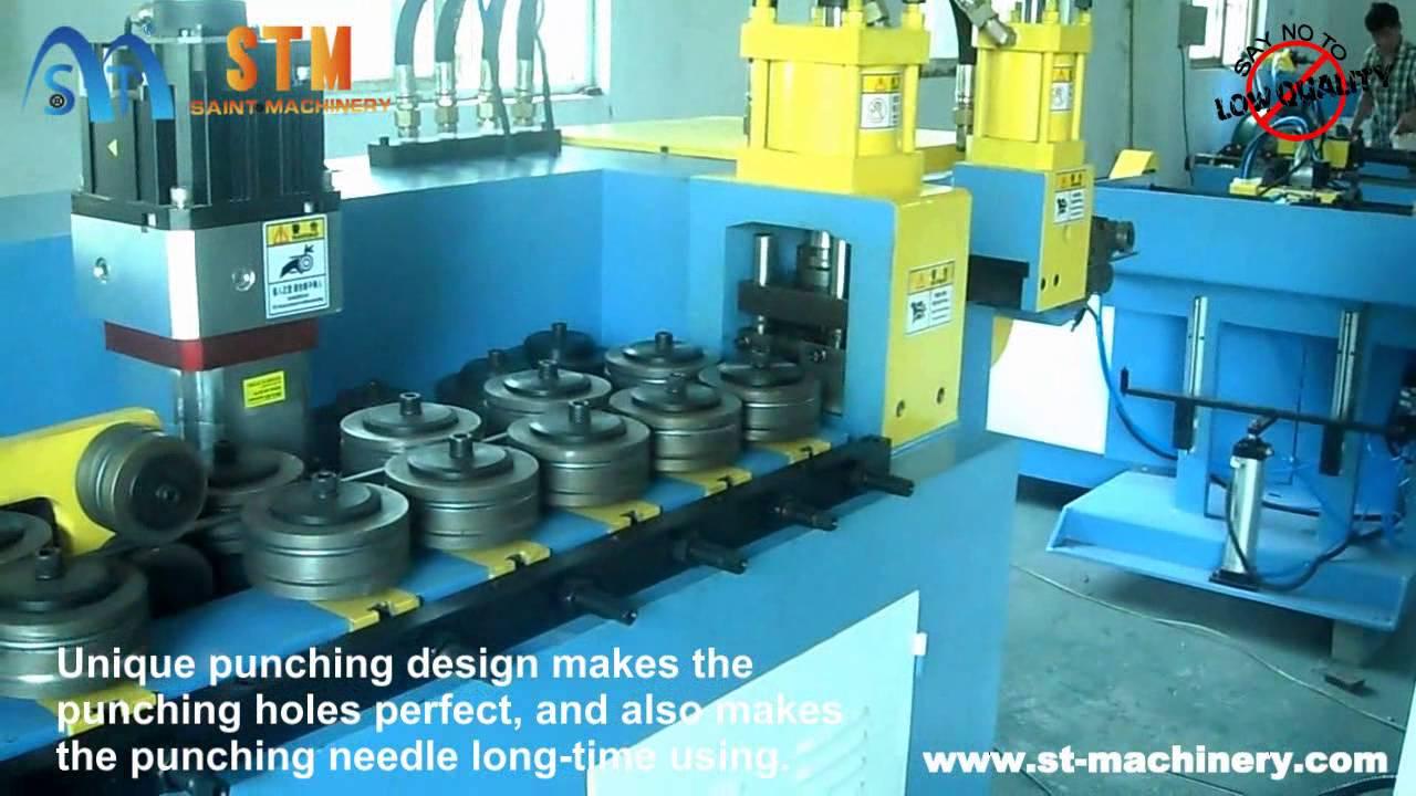 STM Saint Machinery CNC wire bending machine, wire straightening ...