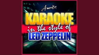 Living Loving Maid (In the Style of Led Zeppelin) (Karaoke Version)